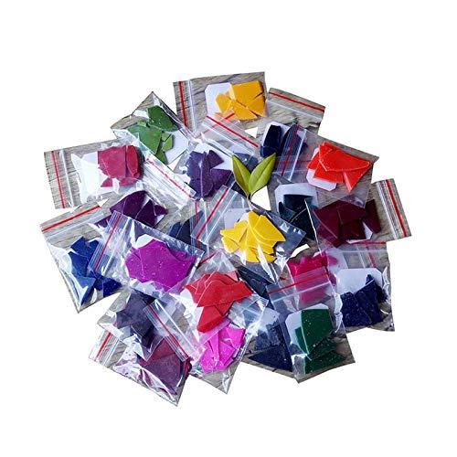 24 tintes para Hacer Velas, Tinte de Cera de Soja Seguro para Regalos, Tinte para Velas de Bricolaje para Hacer Velas Kit de Suministros para Cera de Soja, Velas de Bricolaje -2 g/Paquete