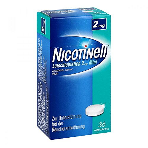 Nicotinell Lutschtabletten 2 mg Mint, 36 St. – Diskrete Unterstützung bei der Raucherentwöhnung