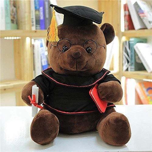 JKLI Bär Plüschtiere, ausgestopfte Plüschtiere, Bärentierpuppen, Abschlussgeschenke for Kinder und Mädchen,Farbe:28cm Wangwu (Color : 28cm)