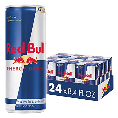 Red Bull Energy Drink, 8.4 Fl Oz (24 Count)