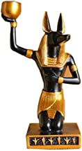 Home Accessories Anubis Dog God Statue, Egyptian Mythology Statue Candle Holder for Home, Storefront, Yoga, Office Decorat...