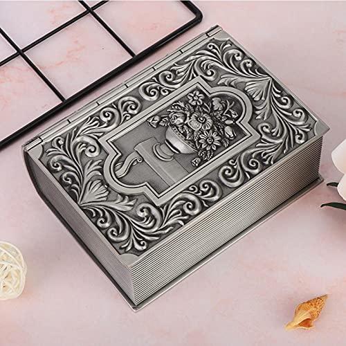 Organizador de collar, buena decoración Caja de almacenamiento de apariencia exquisita para sala de estar para pendientes de pulseras