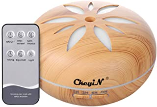 comprar comparacion Humidificador Ultrasónico 550ml,Aceites Esenciales Difusor de Aromaterapia Control Remoto -7 Colores+4 Temporizador-Para l...