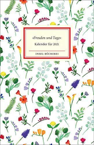 »Freuden und Tage«: Insel-Bücherei Kalender 2021
