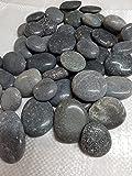 Der Naturstein Garten 5 kg polierte Kieselsteine 5-7,5 cm - Glanzkies Hot Stone Dekosteine Flusskiesel - Lieferung KOSTENLOS