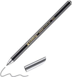 Edding 1200 metallic pen zilver