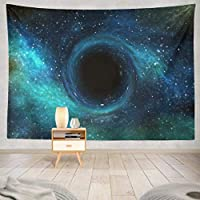 JOOCAR 飾りをかける ブラックホール星場空間空 快適なインテリア、アイデアのタペストリー