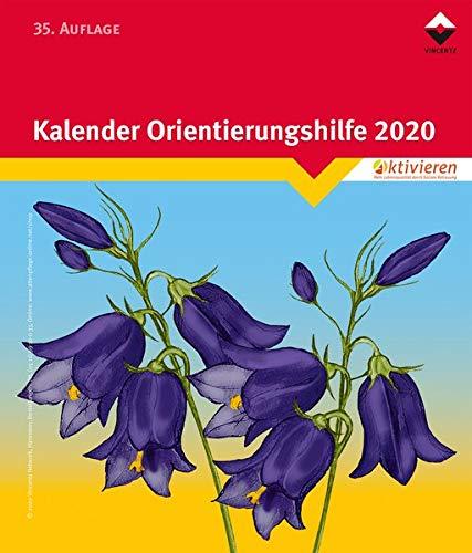 Kalender Orientierungshilfe 2020 (Block): Block
