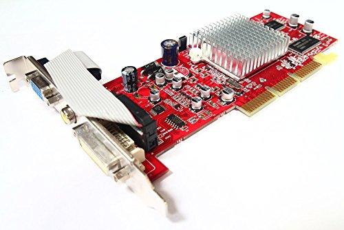 Tul ATI Radeon 9200SE 128MB DVI VGA TV-Out AGP CGA-S928TVD R92LE Graphics Card (Generalüberholt)