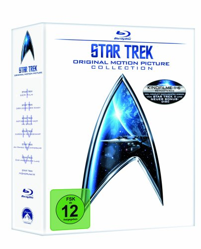 Star Trek - Movies 1-6 (mit USB Stick ) [Blu-ray]