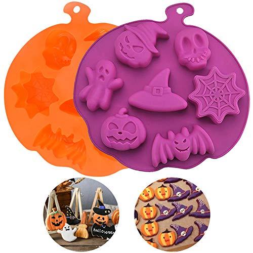 WENTS Premium Silikon Backform/Muffinform für Muffins, Cupcakes, Kuchen, Pudding, Eiswürfel und Gelee - Karikatur Auto Silikonform für eindrucksvolle Kreationen, Hochwertige Kuchenform 2pcs