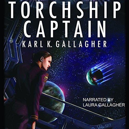 Torchship Captain audiobook cover art