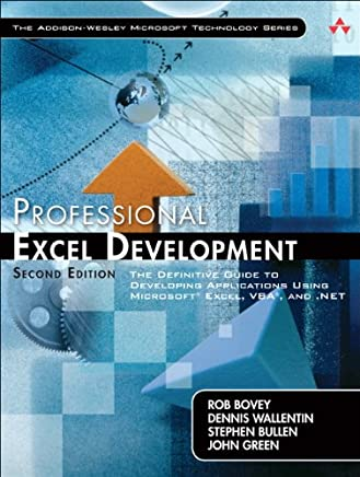 Professional Excel Development: The Definitive Guide to