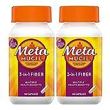 Metamucil, Psyllium Husk Fiber Supplement,...