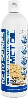VMI Sports Emulsified MCT Oil, 100% Pure Coconut Oil Sources, Non-Dairy Keto Creamer for Coffee, Gluten Free, Vegan & Paleo Friendly, French Vanilla Flavor, 31 Servings, (16 FL OZ)