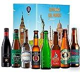 Pack Cervezas del mundo, Edición Española: La Virgen, La sagra, Madrí, Santa Monica, Ambar Export, 1906 Punk, Inedit, Alhambra I Ideas para regalar.