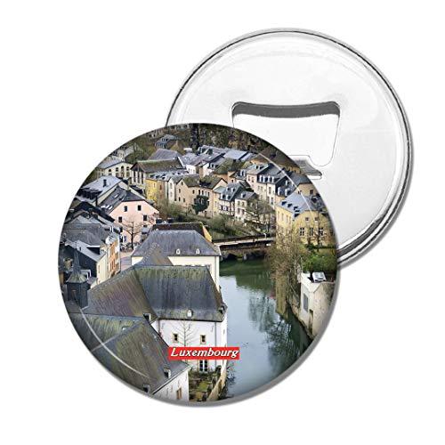 Weekino Altstadt von Luxemburg Bier Flaschenöffner Kühlschrank Magnet Metall Souvenir Reise Gift