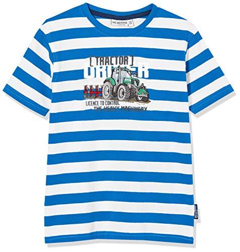 Salt & Pepper Jungen 03112161 T-Shirt, Blau (Regatta Blue 469), (Herstellergröße: 92/98)