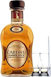 Cardhu Amber Rock Single Malt Whisky 0,7 Liter  2 Glencairn Gläser  Einwegpipette 1 Stück