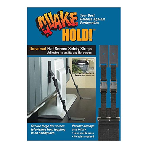 QuakeHOLD! 4520 Universal Flat Screen Safety Straps