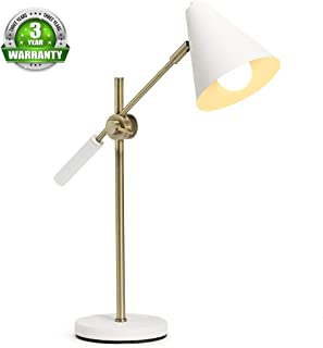 Aeros LED Desk Lamp Office Modern Desk Lamp Table Reading Lamp Industrial Table Lamp Study Lamp Swing Arm Desk Lamp (22.8
