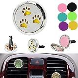 Moliies Compatto Artiglio per Cani Car Deodorante per Auto Profumo Diffusore per Auto Car Auto Deodorante Deodorante Olio Essenziale Decorazione Regalo - A Caso