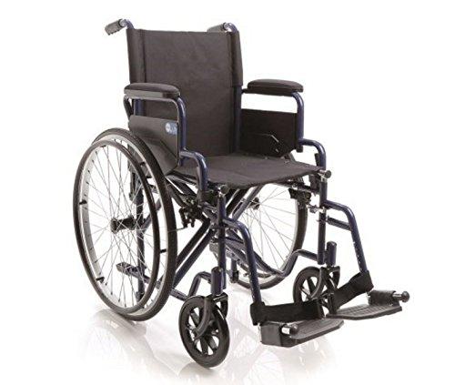Sedia a rotelle Pieghevole ad Autospinta Trasformabile (50 cm)