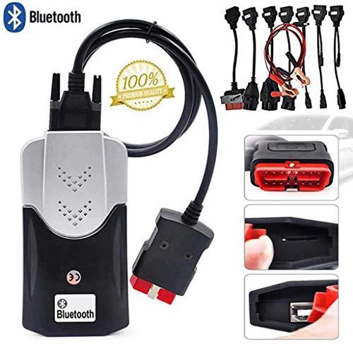 SKNB Autodiagnosetester Ds150 Ds150E Cdp Tcs Pro Plus OBD Bluetooth 2016.00 Keygen Software Auto-LKW-Diagnosetool Obd2 Scanner-Codeleser, Mit 8 Autokabeln