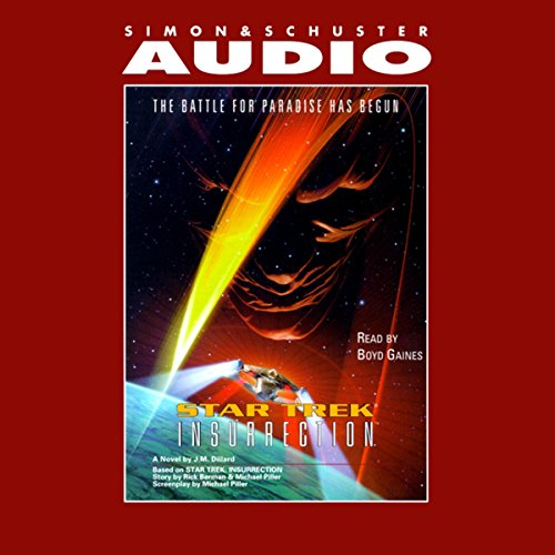 Star Trek: Insurrection (Adapted) cover art