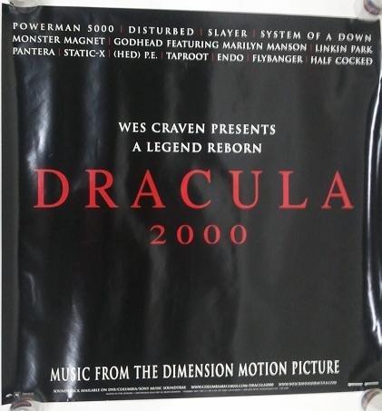 DRACULA 2000 - WES CRAVEN LEGEND REBORN poster. The poster is not created or sold by DRACULA 2000