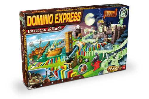 Goliath - 80880.004 - Jeu d'action et de Réflexe - Domino Express Forteresse Attaque - Pirate