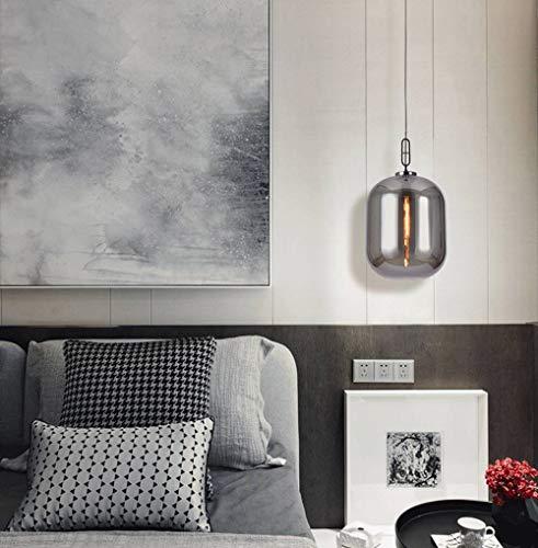 Hil bureaulamp, decoratie, Scandinavische persoonlijkheid, glazen lamp, nachtkastje, minimalistisch, mooi, moderne kroonluchter