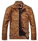 MOZRI Men's Jacket (MZ_30_Tan_S Small)