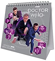 Doctor Who Desk Easel Official 2019 Calendar - Desk Easel Format