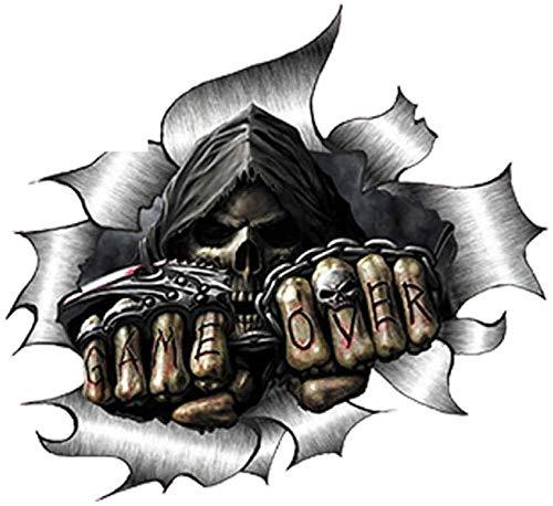 ZI Pegatinas de Coche de Terror Calavera Graffiti Pegatina de Coche Pegatina Reflectante Universal decoración 16 cm X 15 cm