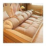 DO.CKEB Materasso Futon Pieghevole Giapponese, Addensare Il Materasso del Pavimento Matera...