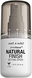 Wet n Wild Photo Focus Natural Finish Setting Spray (Seal the Deal) - Fijador