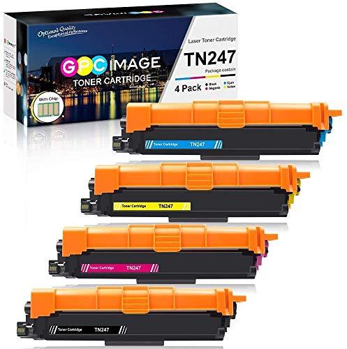 GPC Image TN-247 TN-243 Cartucce Toner Compatibile per Brother TN247 TN243 per Brother DCP-L3550CDW MFC-L3730CDN MFC-L3770CDW HL-L3210CW L3270CDW L3230CDW DCP-L3510CDW L3517CDW MFC-L3710CW L3750CDW