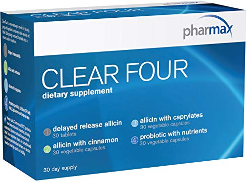 Pharmax - Clear Four - Shelf Stable Probiotics to Promote Gastrointestinal Health - 30 Day Supply
