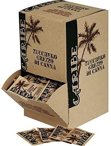 Zucchero Grezzo di Canna Caribe Monodose