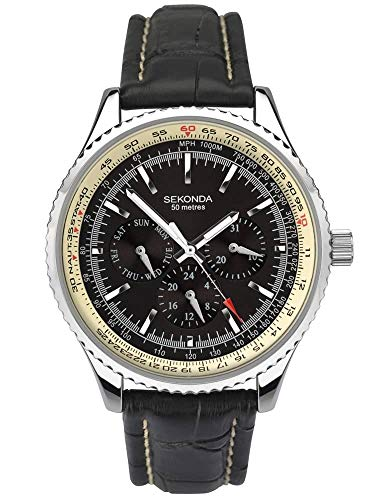 Sekonda Multifunktions-Armbanduhr für Herren 1503