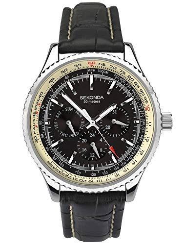 Sekonda Reloj multifunción para hombre 1503