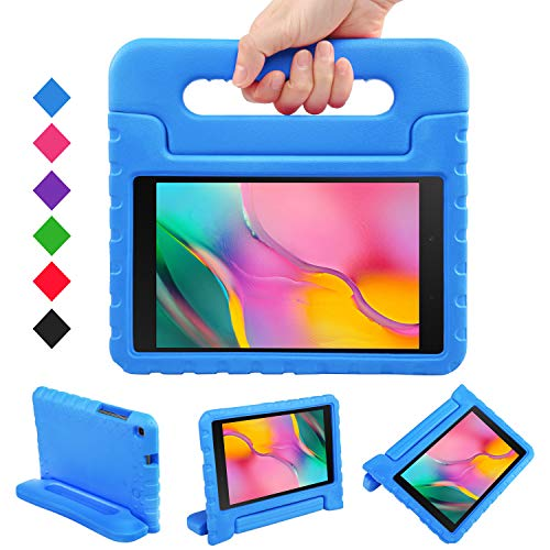 LEADSTAR Case for Samsung Galaxy Tab A 8.0 2019, Shockproof Light Weight Protection Handle Stand Kids Case fit Galaxy Tab A 8.0 inch SM-T290/ SM-T295 2019 Tablet, for Children (Blue)