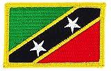 Patch Aufnäher bestickt Flagge St. Kitts & Nevis Christoph & Nieves Flag