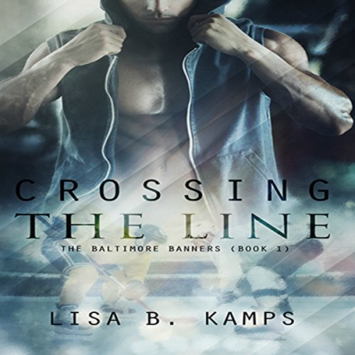 Crossing the Line audiobook cover art