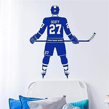 Wandaufkleber Schmetterling Benutzerdefinierte Grosse Eishockey Spieler Wahlen Jersey Name Und Zahlen Dekor Crosby Mcdavid Kinder Schlafzimmer Amazon De Baumarkt