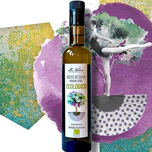 A.O.V.E. ECOLÓGICO Premium La Verea Andaluza 0,5L. Monovarietal Arbosana. Libre de agroquímicos