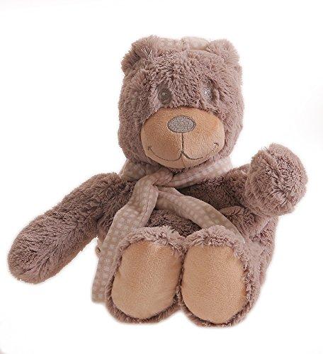 matyfashion Kinderrucksak Plüschtier Baby Tiermotiv Stofftiere Kuscheltier BF 0034 (Braun / Teddy)