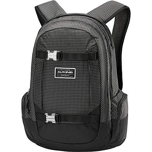 DAKINE Mission Backpack Black, Grey – Backpack for Laptops and Netbooks (Black, Grey, Print, Unisex, Zip, 360 mm, 230 mm)