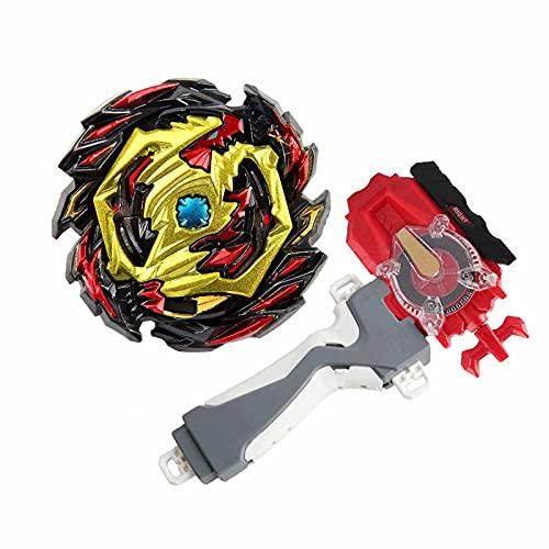 XIANGHUI Beyblade Burst   Peonzas   Juego de trompos de Combate de giroscopio de Metal de 4D Fusion Model Burst Evolution Combination Series con lanzadores de Juguetes para niños